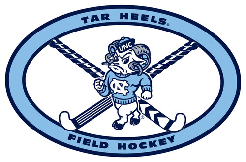 Carolina DECAL - Oval Field Hockey