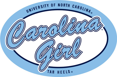 Carolina DECAL - Carolina Girl Oval