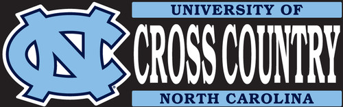 Carolina DECAL - Cross Country