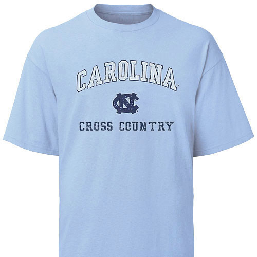 Carolina Faded Sport T-Shirt - Cross Country