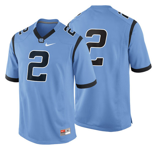 Youth Nike Carolina Football Jersey - Carolina Blue #2