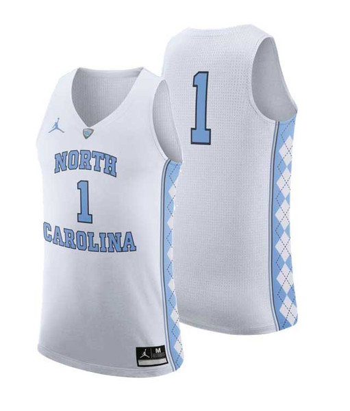 Nike AUTHENTIC Basketball Jersey - White #1