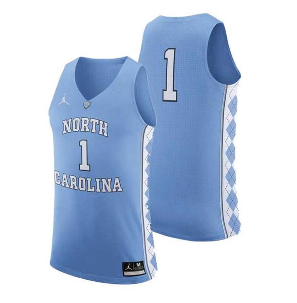 Nike AUTHENTIC Basketball Jersey - Carolina Blue #1