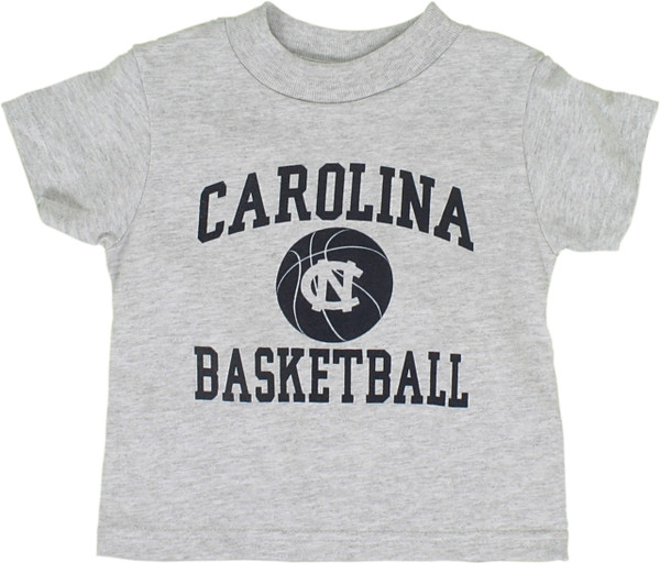 Carolina One Color Basketball Tee for toddlers