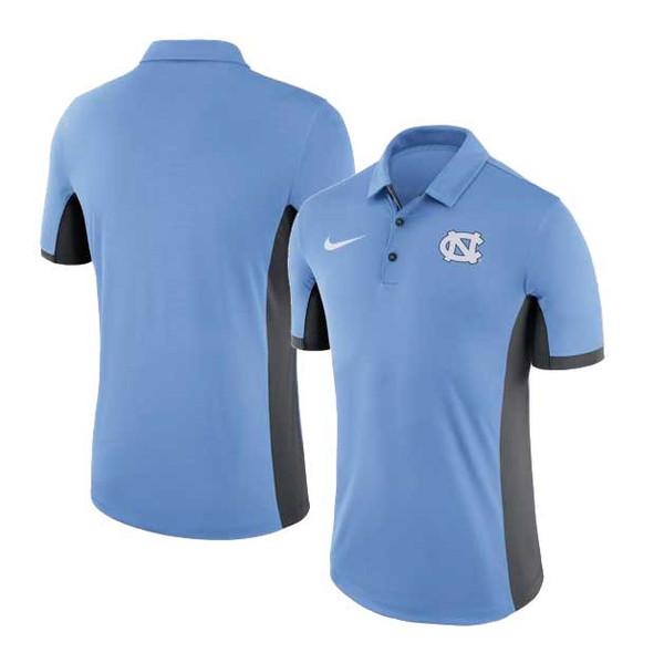 Nike Evergreen Polo - Carolina Blue and Anthracite