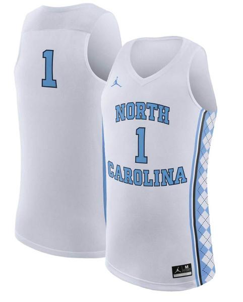 Nike REPLICA Basketball Jersey - White #1