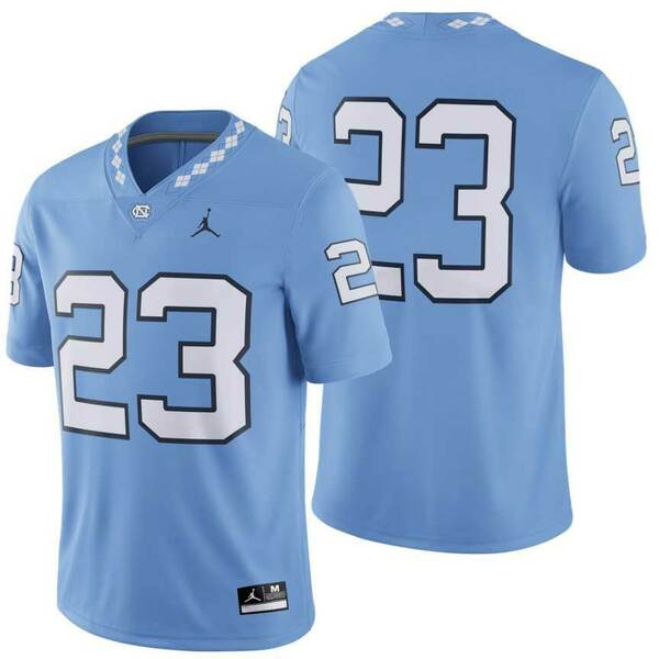 Nike YOUTH Football Jersey - Carolina Blue #23