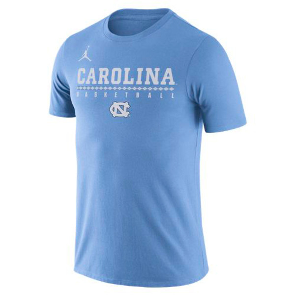 2018 Nike Jumpman Basketball Practice Legend Tee - Carolina Blue