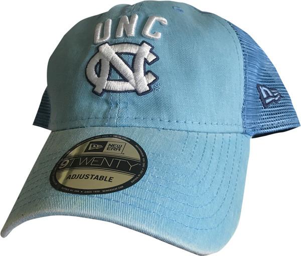 New Era Trucker Hat - Rugged Stack Carolina Blue