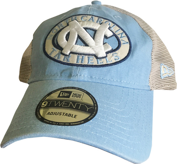 New Era Trucker Hat - Carolina Blue Patched Pride