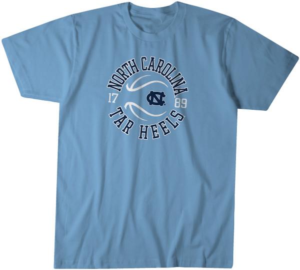 Carolina Basketball Tee - Around The Ball Logo