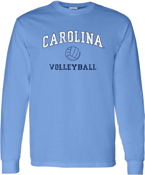 Carolina Faded Sport LONG SLEEVE T-Shirt - VOLLEYBALL