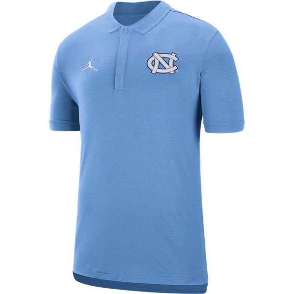 Nike Jordan Coach's Polo - Carolina Blue