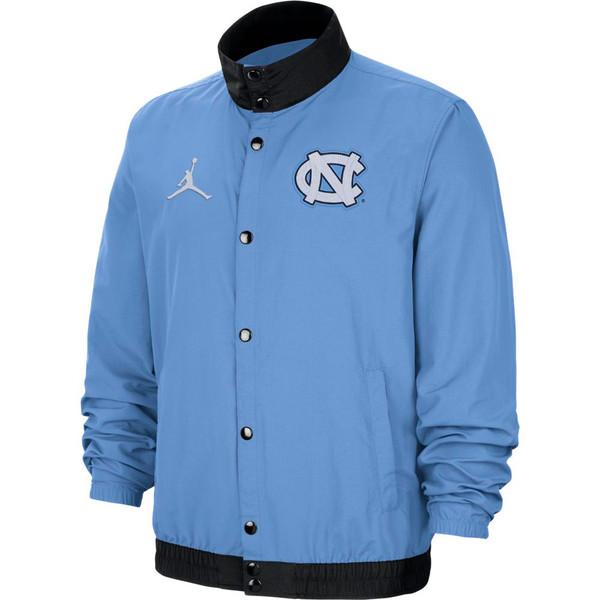 Nike Jordan Full Button Lightweight Jacket - Carolina Blue