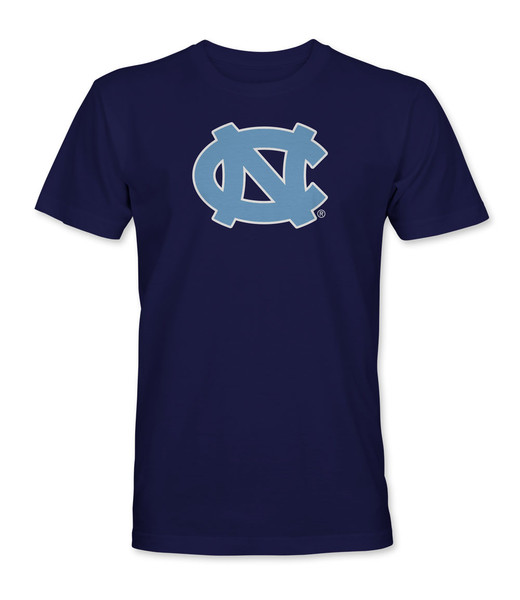 Carolina Big Interlock NC Tee Shirt - Navy