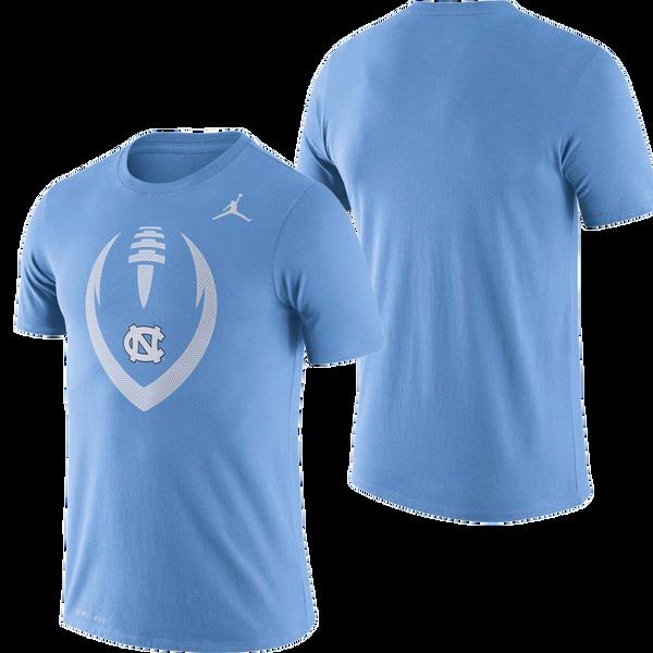 Nike Carolina Dri-FIT Legend Logo Tee - Carolina Blue Football