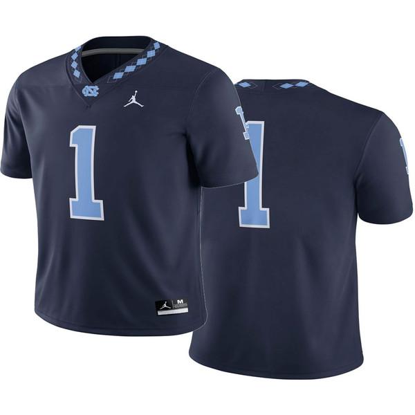 YOUTH Nike Jordan Football Jersey - Navy #1
