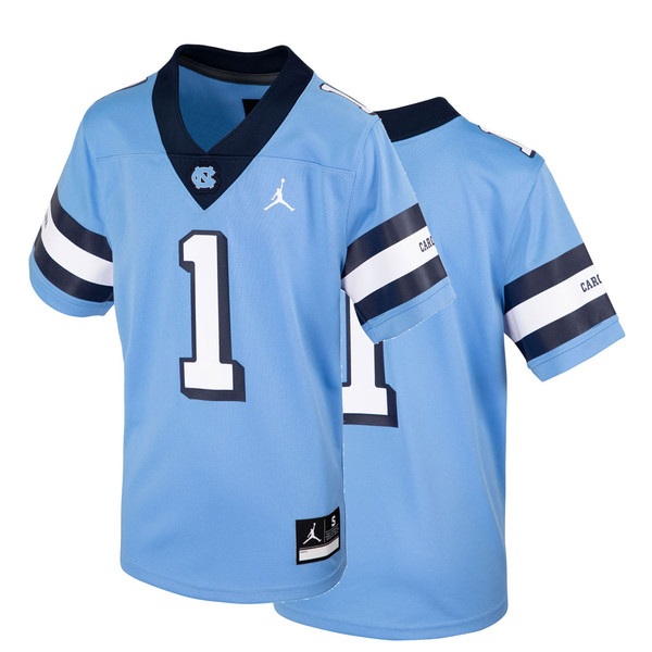 Nike Football Game Jersey - Throwback Carolina Blue #1