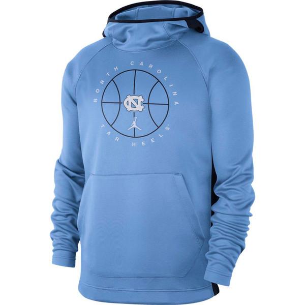 Nike UNC Spotlight Hood - Carolina Blue