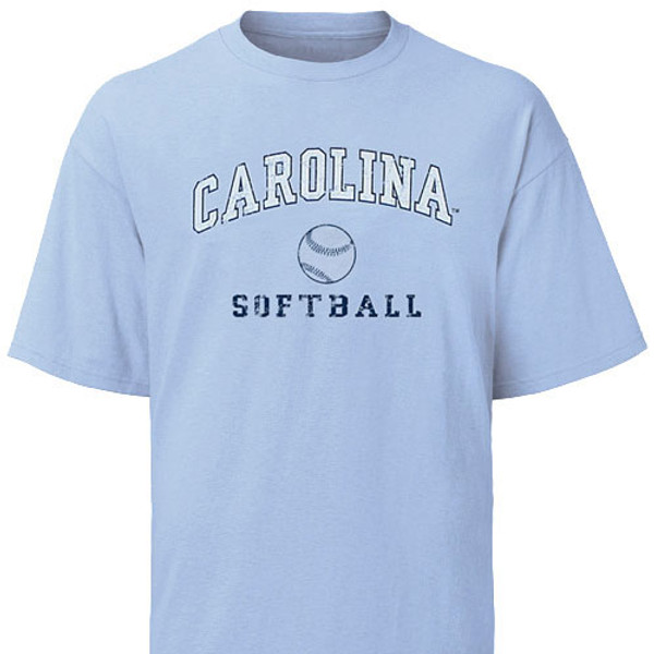 Carolina Faded Sport Tee Shirt - Softball