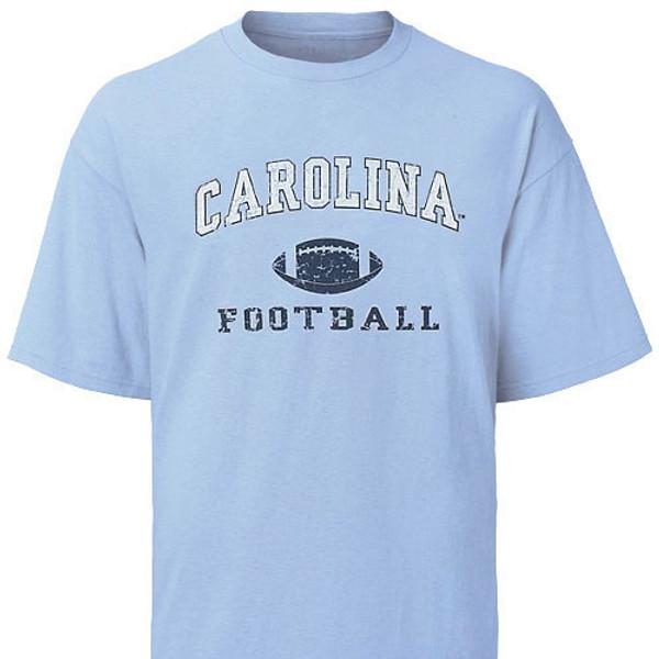 Carolina Faded Sport Tee Shirt - Football