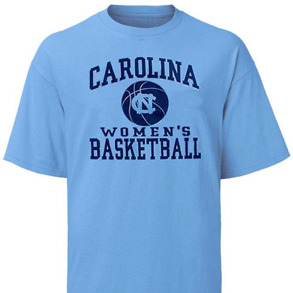 Carolina Women's Basketball Ball Tee Shirt