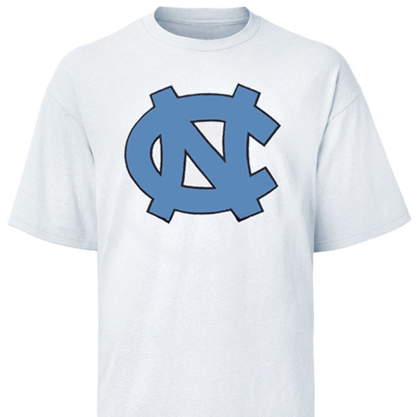 Carolina Big Interlock NC Tee Shirt - White