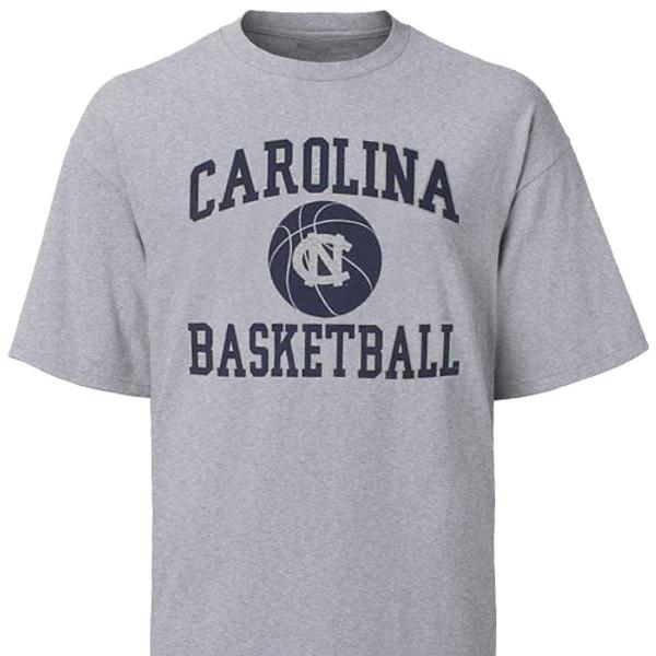 Carolina YOUTH Basketball Ball Tee Shirt