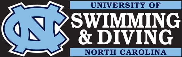 Carolina DECAL - Swimming & Diving