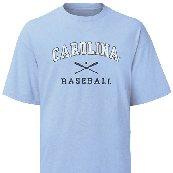 Youth Carolina Baseball Tee - faded design