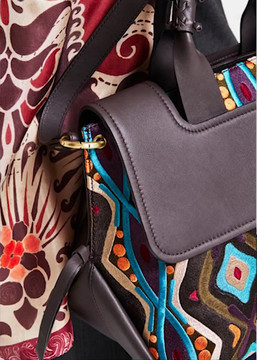 Maliparmi Virginia Embroidered Bag Satchel  2