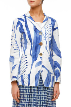 Tribal Leaves Jacket