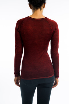 Cashmere Fitted V Neck Sweater Smalto
