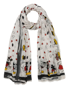 Sarti x Disney limited collectors scarf Mickey Mouse