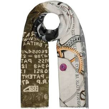 Faliero Sarti limited edition time and style scarf