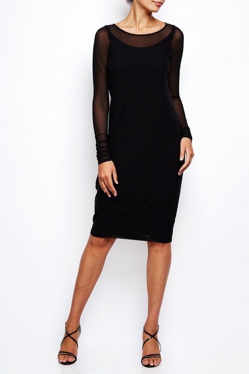 Annette Goertz Stretch Mesh Cocoon Dress 2