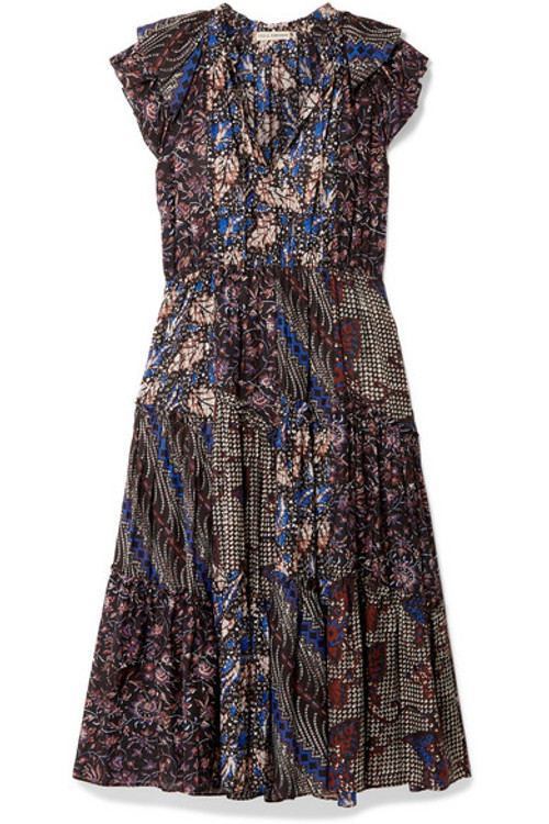 Ulla Johnson cotton batik long dress
