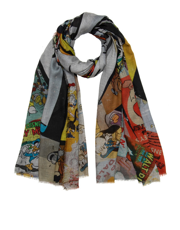 Sarti x Disney limited collectors scarf Donald Duck