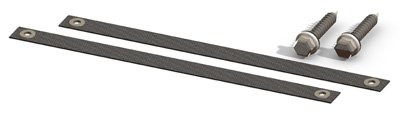 """Enersol Solar Heating Pair of Straps for Panels, 12"""" (SP40200)"""