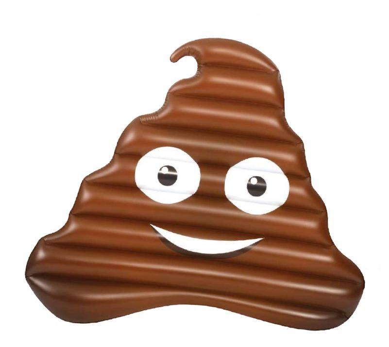 """Poop Emoji Float, 59"""""""