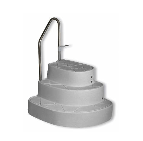 Innovaplas The Tux Drop-In, In Ground Step (LUM-TUX)