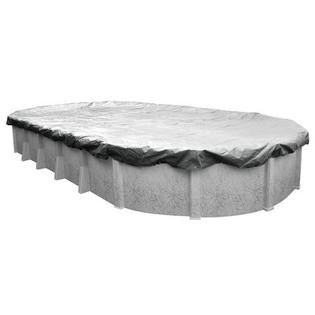 16'x32' Platinum Pro-Shield Oval Above Ground Winter Pool Cover
