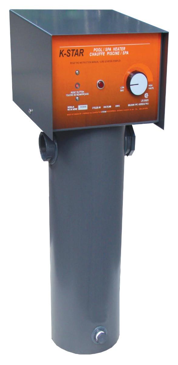 K-Star Titanium 15KW (90,000 L) Electric Pool/Spa Heater