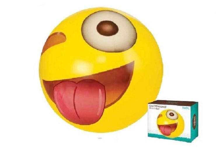 "Emoji Wink Ball, 56"""