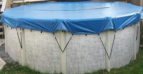 24' Round Eliminator Winter Pool Cover