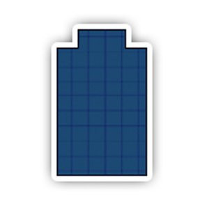 12' x 24' Rectangle with 8' x 4' Centre Step Safety Cover: Platinum Commercial Mesh