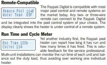 RayPak 336A Electronic 332,500 BTU Natural Gas Heater