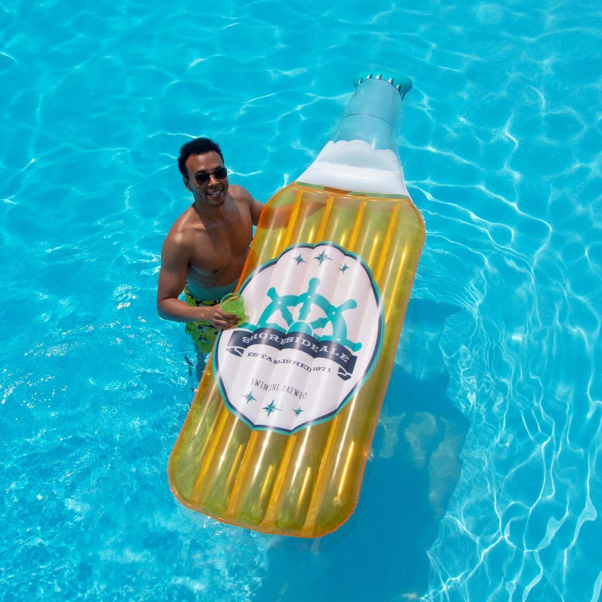 Beer Bottle Float