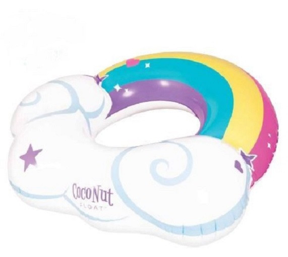 Rainbow Cloud with Cup holder Float
