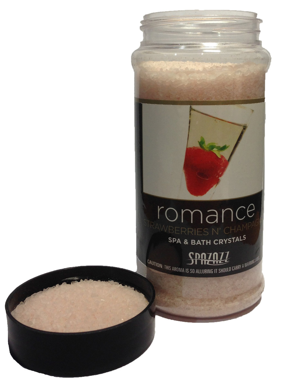 Spazazz Crystals, Strawberries N' Champagne, 17oz
